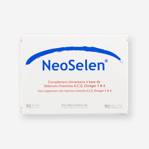 Boîte-Neoselen Antiage-antioxydant-30 Gélules Laboratoires Biorecherche