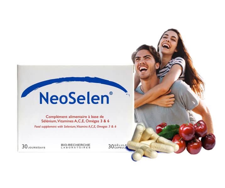 Boîte Neoselen - Antiâge - Laboratoires Biorecherche