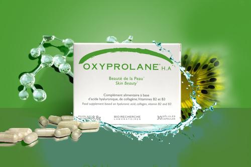 Boîte Oxyprolane HA - Beauté de la peau - Laboratoires Biorecherche