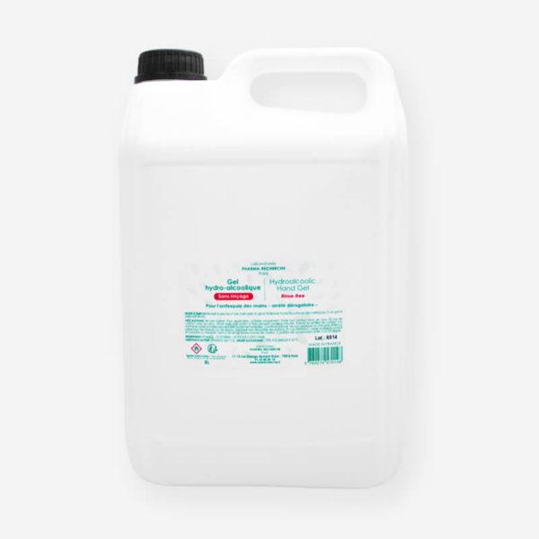 Gel hydroalcoolique -5 litres - Laboratoires Pharma-Recherche