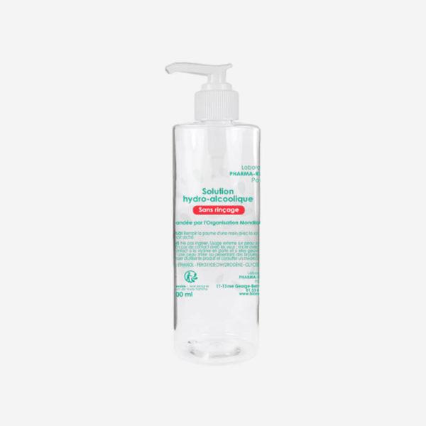 Gel hydroalcoolique -500 ml - Laboratoires Pharma-Recherche