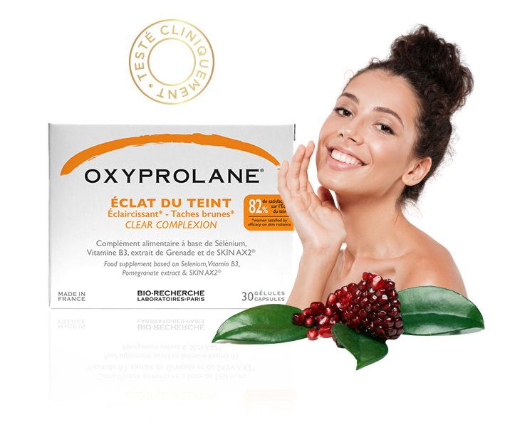 Oxyprolane Eclat du teint -Biorecherche - Compléments alimentaires