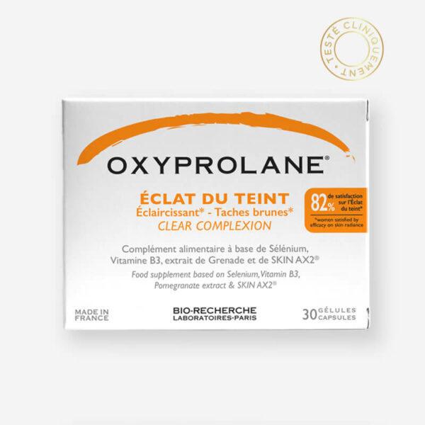 Boîte Oxyprolane Eclat du Teint 30 gélules- Labotaroires Biorecherche