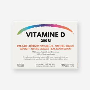 Vitamine D- Complément alimentaire - Immunité - Défenses naturelles - Maintien osseux